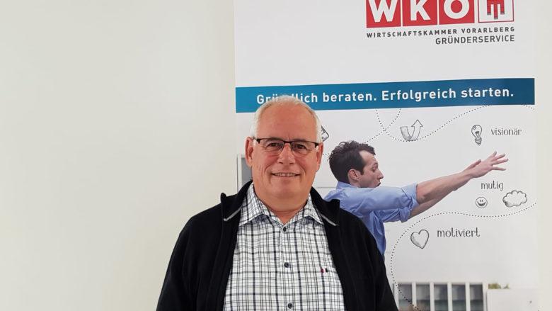 Christoph Mathis vom Gründerservice Vorarlberg © WKÖ
