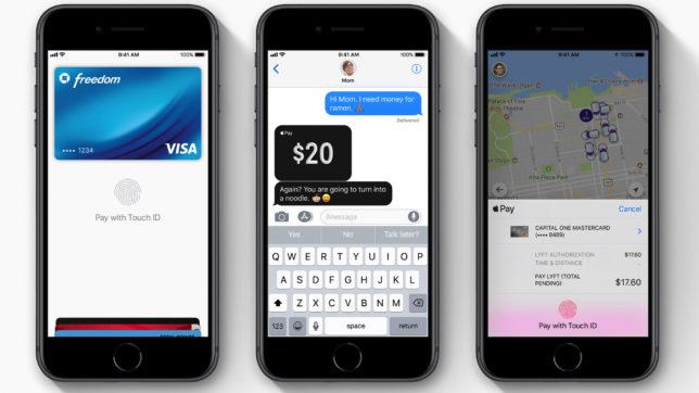 Apple Pay. © Apple