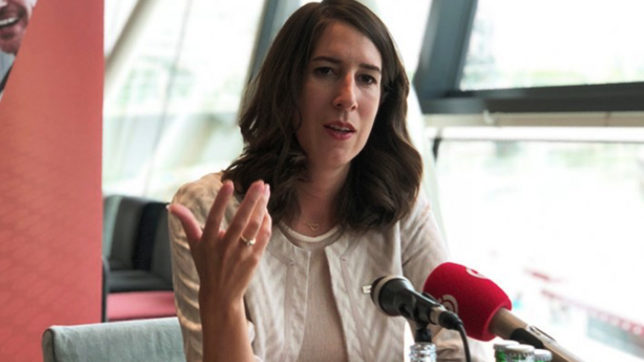 Amelie Groß, Unternehmerin und Bundesvorsitzende der Jungen Wirtschaft. © WKO