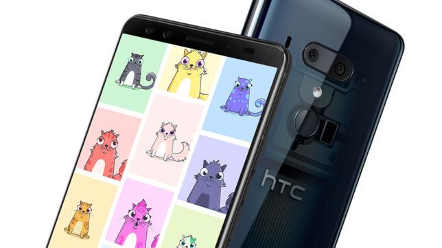 CryptoKitties kommen auf Android-Handys. © HTC