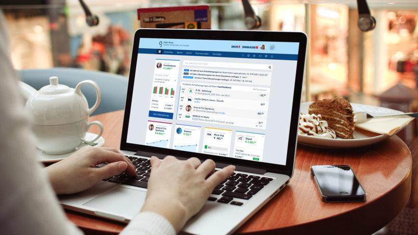 Online-Banking mit George. © Erste Bank
