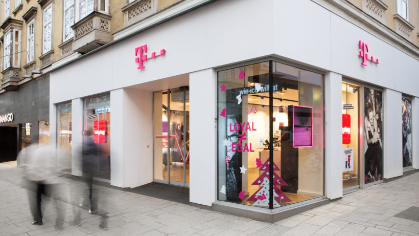T-Mobile-Shop in Wien. © T-Mobile Austria