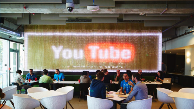 Im YouTube-Cafe. © Google