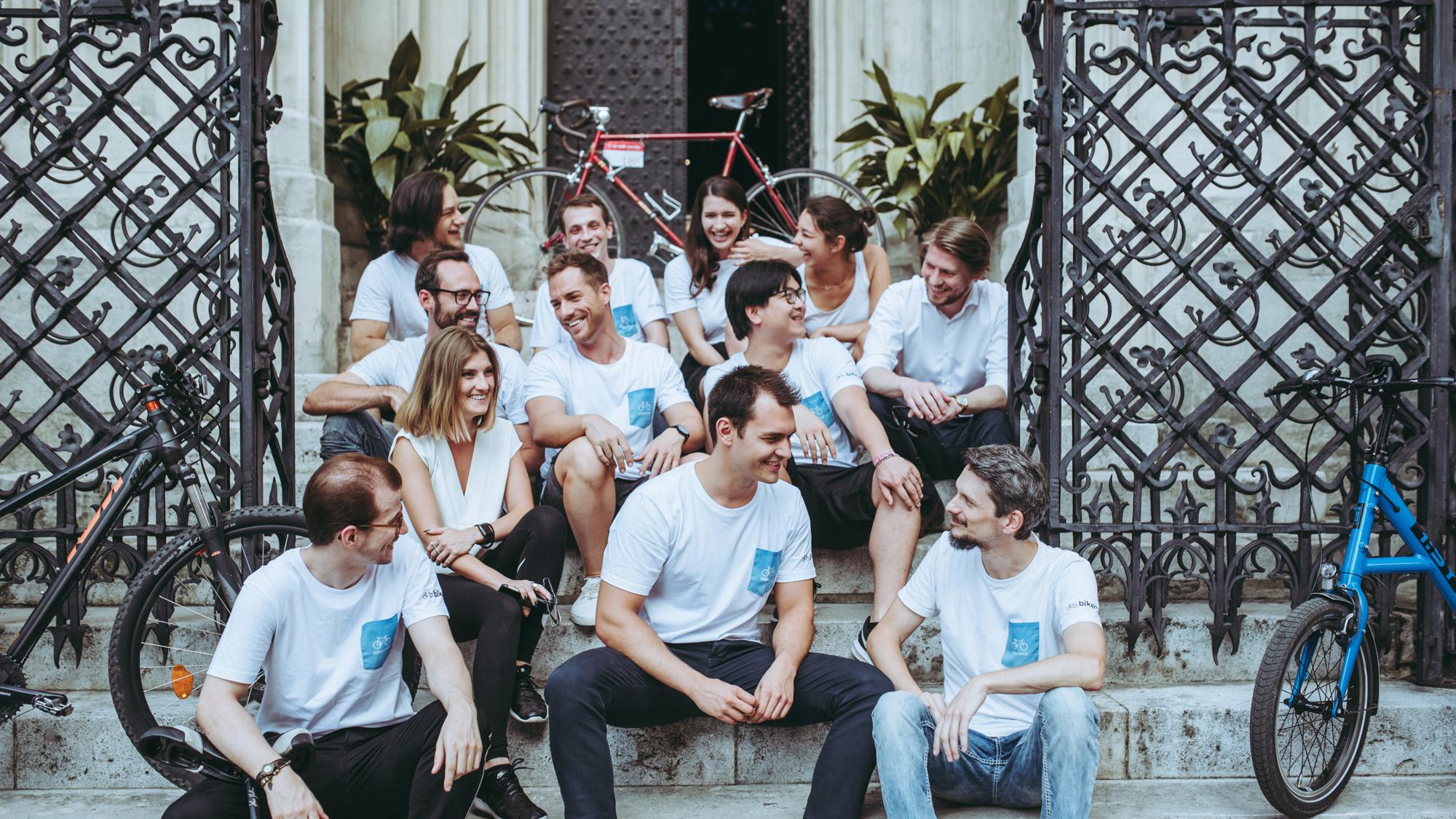 Das Bikemap-Team © Bikemap/Niklas Stadler