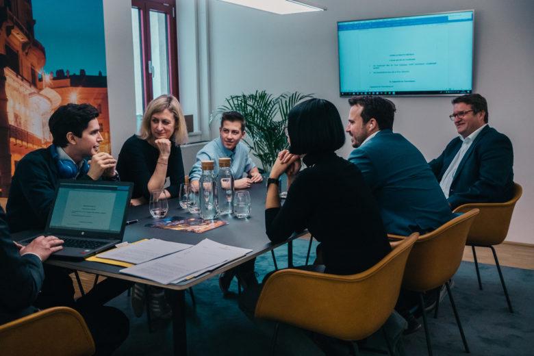 Beim Notartermin der Freebiebox GmbH. @ Freebiebox GmbH