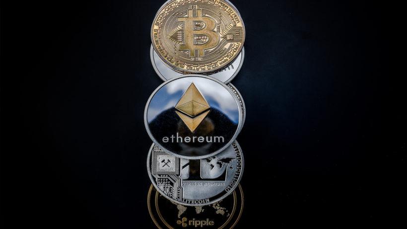 Ethereum, Litecoin, Ripple, Bitcoin. © Pixabay