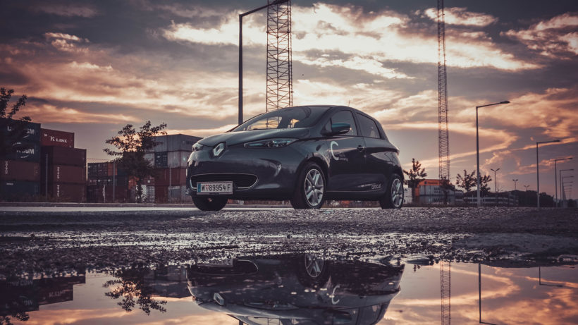 Der Renault Zoe im Angebot von Caroo. © Caroo Mobility
