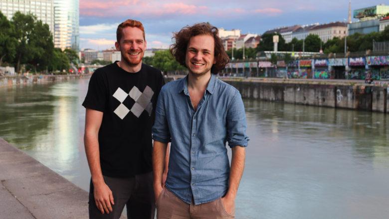 Florian Ott und Stefan Salcher von Druckster. © Druckster.at