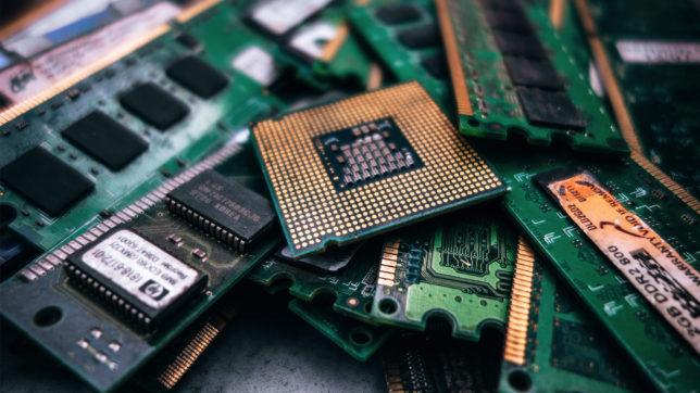 Silizium, die Basis von Elektronik-Hightech. © Pexels