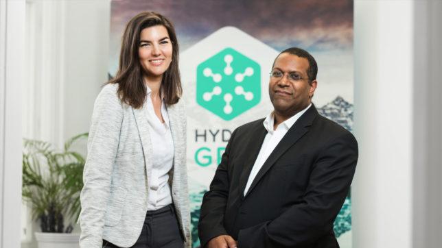 Janice Goodenough (CEO) und Kiran Madisetti (COO) von Hydrogrid. © Hydrogrid