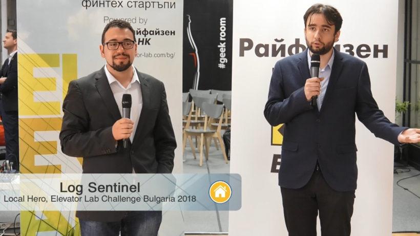 Anton Gerunov and Bozhidar Bozhanov of Log Sentinel. © Raiffeisen