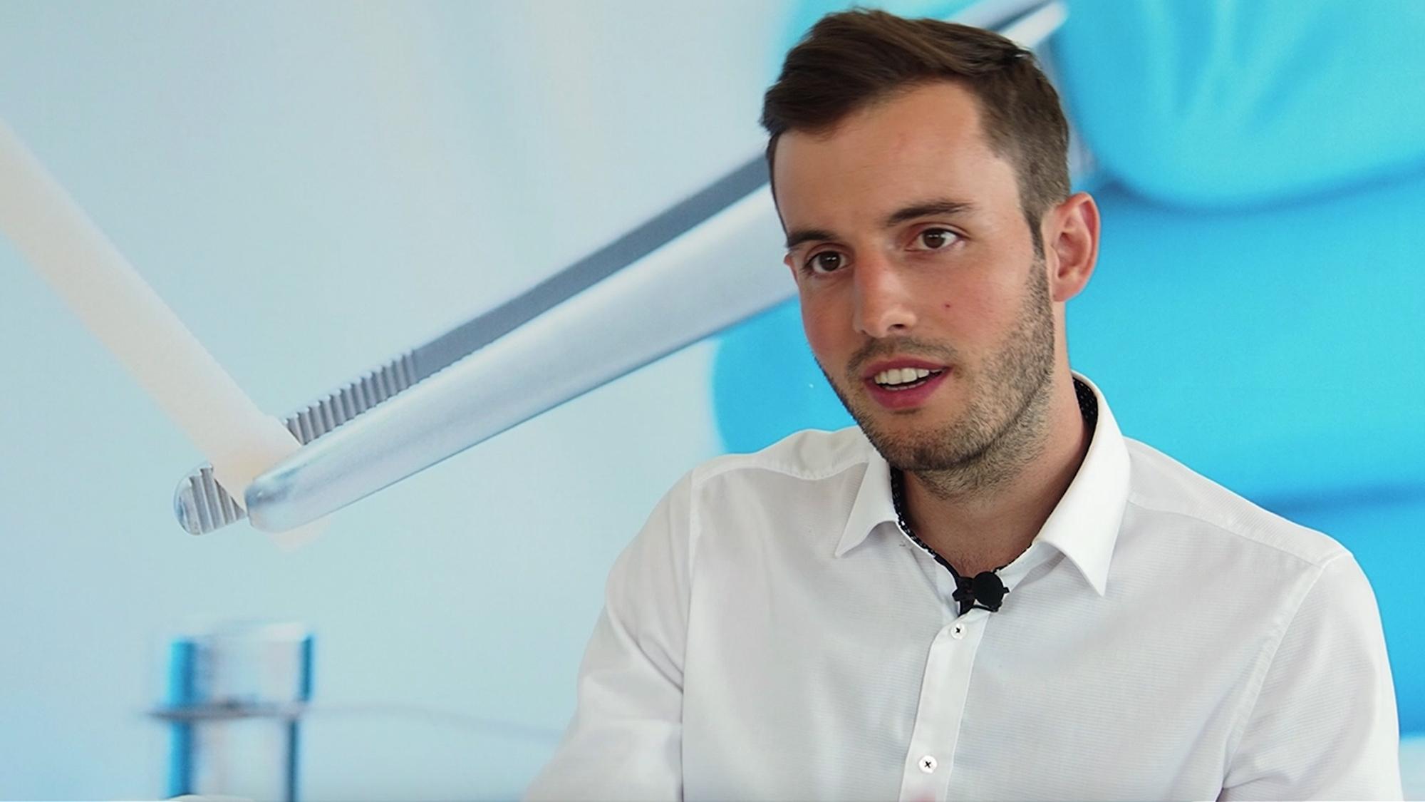 SurgeBright-Co-Geschäftsführer Lukas Pastl. © Trending Topics
