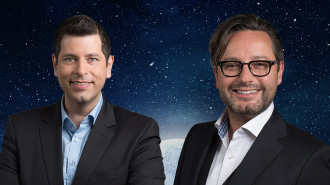 Die Qravity-Gründer David Brandstätter und Christian Sascha Dennstedt. © QravityQCO GmbH
