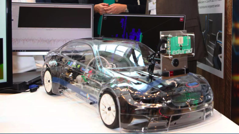 Sensor-Demonstrator des Virtual Vehicle. © Virtual Vehicle Research Center