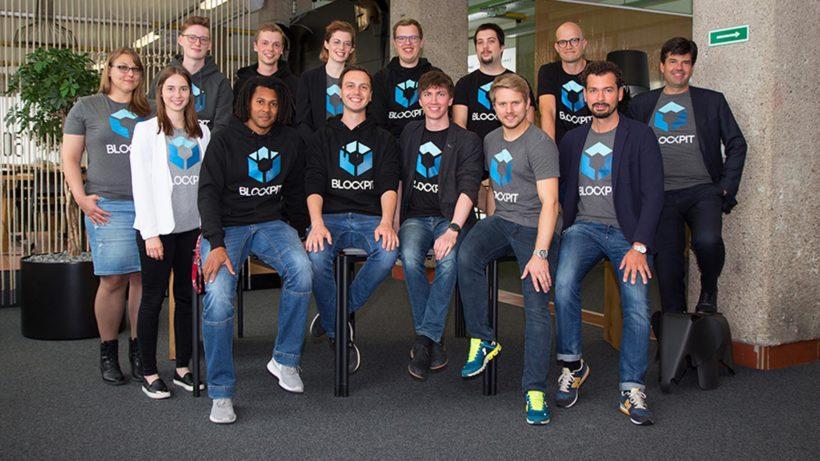 Das Team von Blockpit. © Blockpit
