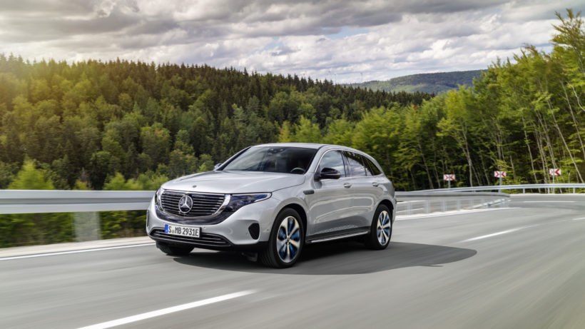 Mercedes-Benz ECQ. © Daimler