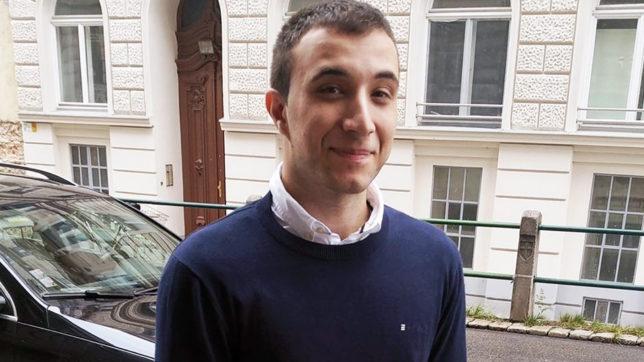 Andrei Miu, Macher des SchillingCoin. © Andrei Mui