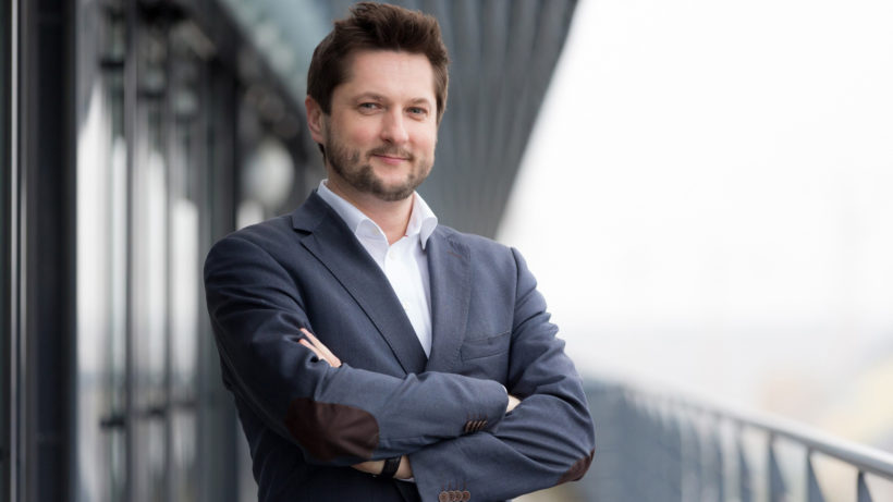 Damian Izdebski, Gründer und Vorstand der techbold technology group AG. ª techbold