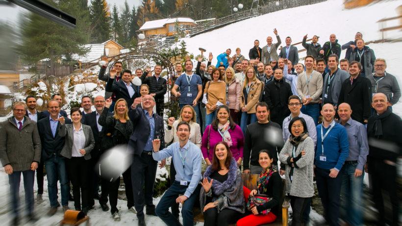 Die Teilnehmer der Gründer Akademie 2017 © Erste Bank