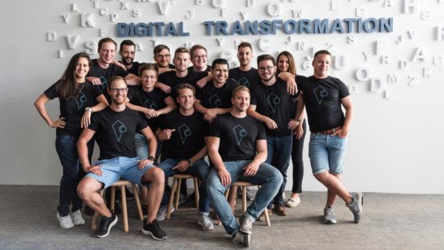 Das Herocoin-Team. © Herocoin