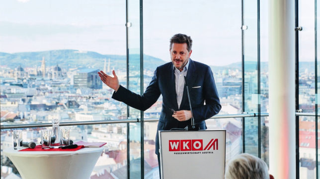 WKO-Präsident Harald Mahrer. © Austrian Startups