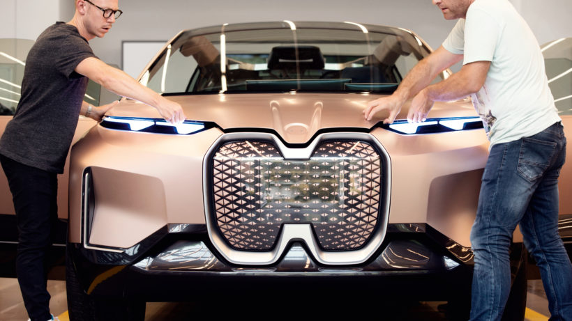 BMW Vision iNEXT. © BMW Group
