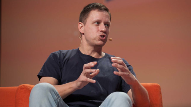 Star-Investor Peter Thiel. © JD Lasica (CC BY 2.0)