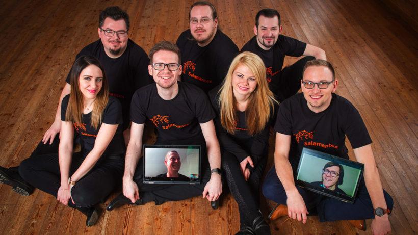 Das Salamantex-Team. © Salamantex