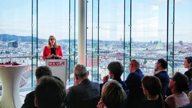 Margarete Schramböck, Ministerin für Digitalisierung und Wirtschaftsstandort. © Austrian Startups