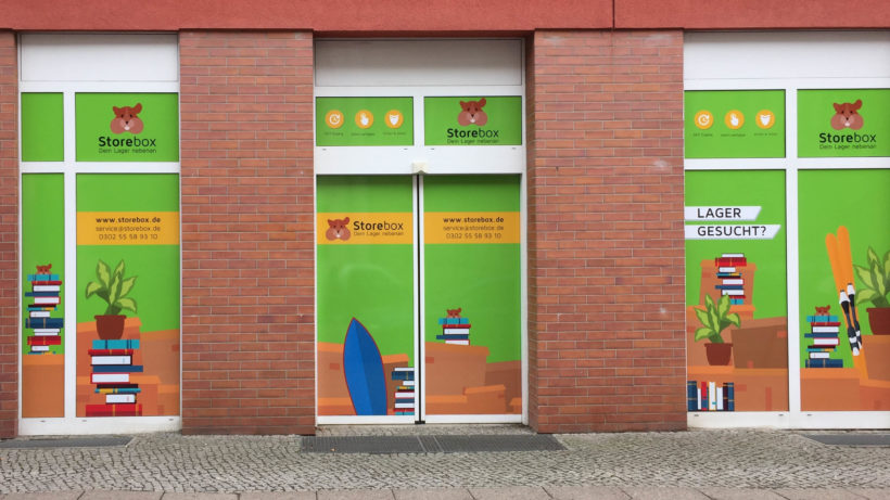 Storebox-Stnadort in Wien. © Storeme GmbH