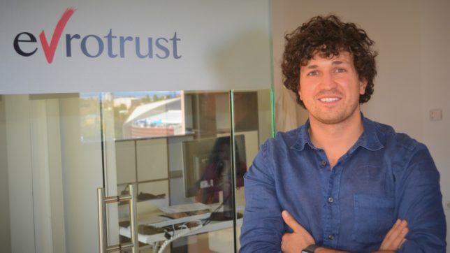Konstantin Bezuhanov, CEO of Evrotrust Technologies