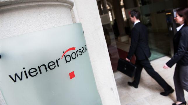 Eingang der Wiener Börse. © Wiener Börse