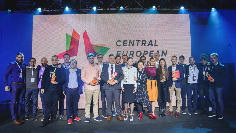Grand Finale of Central European Startup Awards in Sofia 2017 ©CESA