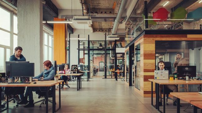 BESCO's office in the biggest co-working space in Bulgaria Puzl