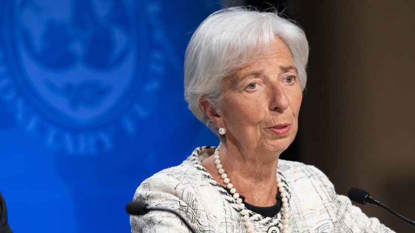 EZB-Chefin Christine Lagarde. © IWF