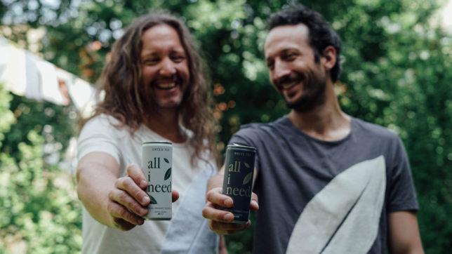 Alexander Jiresch und Thomas Miksits von all i need. © all i need beverage GmbH
