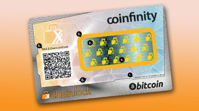 Mock-up der Card Wallet. © Coinfinity/Staatsdruckerei, Montage Trending Topics
