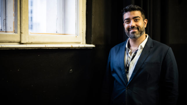 CryptoKitties founder & CEO Roham Gharegozlou. © TEDx Vienna