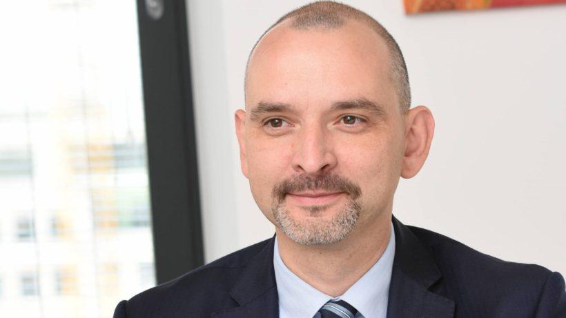 Dobromir Dobrev, Deputy CEO of Raiffeisen Bulgara, shared some insights on how banks work with startups ©Raiffeisen Bulgaria