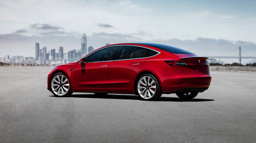 Teslas Model 3. © Tesla