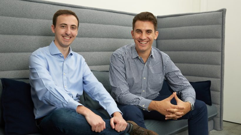Shane Hunt & Nikolay Piriankov (right) of UK-Bulgarian jewelry startup Taylor & Hart ©Taylor & Hart