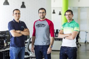 Vassil Terziev, Boyko Iaramov and Svetozar Gorgiev founded Campus X to reproduce the success of Telerik ©Campus X
