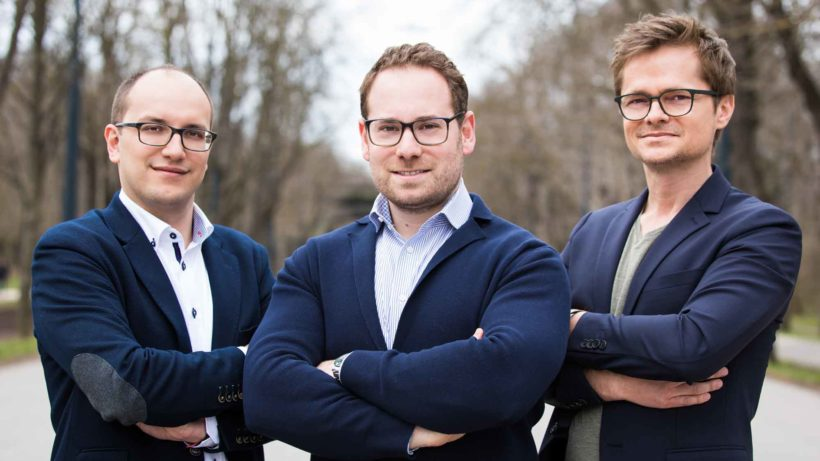 WeAreDevelopers-Gründer Sead Ahmetovic, Benjamin Ruschin und Thomas Pamminger © WeAreDevelopers/Tamás Künsztler