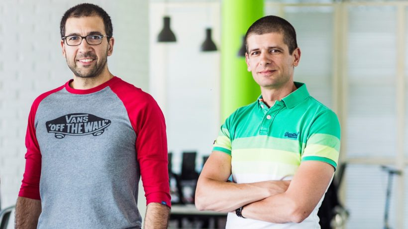 Vassil Terziev, Boyko (l) Iaramov and Svetozar Gorgiev (r) founded Campus X to reproduce the success of Telerik ©Campus X