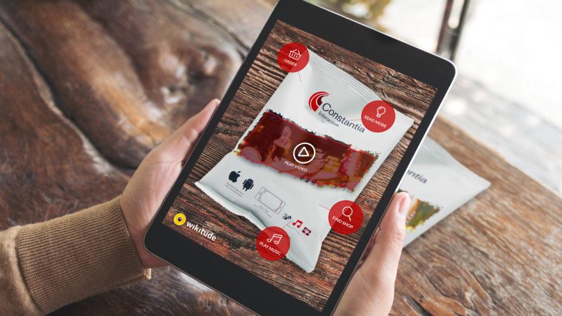 So funktioniert die AR-App von Constantia und Wikitude © Wikitude