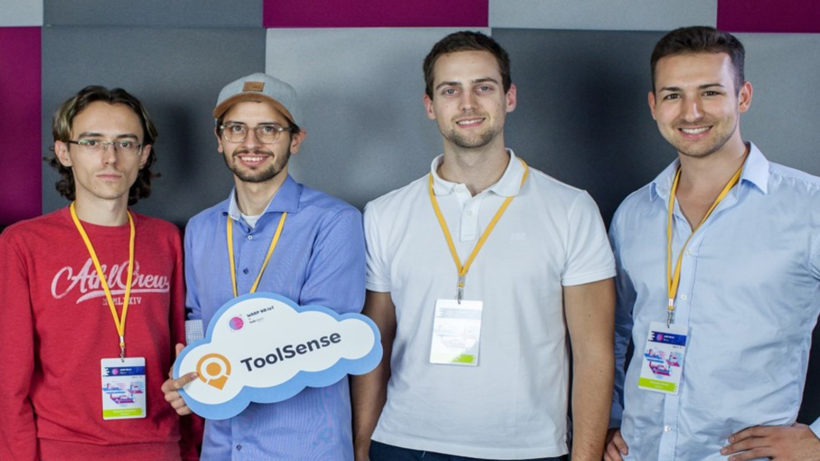 Das Toolsense-Gründerteam © Toolsense