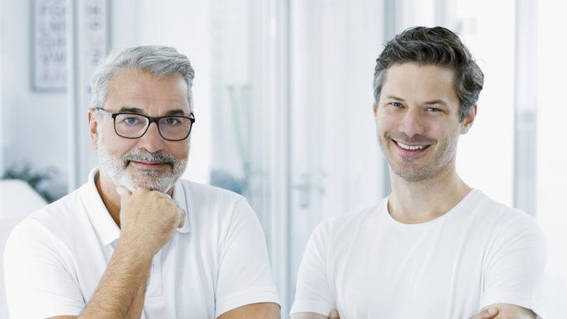 Gerhard Feilmayr und Dominik Flener haben Igevia gegründet. © Igevia