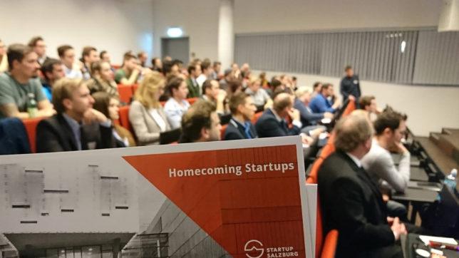 Homecoming Startups holt erfolgreiche FH-Salzburg-Absolventen auf die Bühne. © FH Salzburg