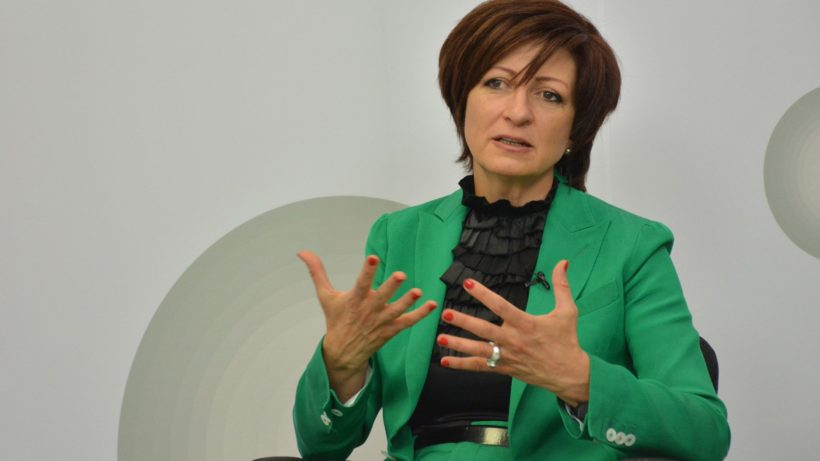 Sasha Bezuhanova, local angel investor, a former senior executive at HP and co-founder of non-governmental organization MOVE.BG is the first Bulgarian board member in EIT ©MOVE.BG