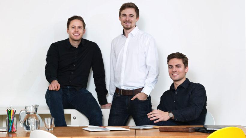 Die drei Carployee-Gründer. © Carployee
